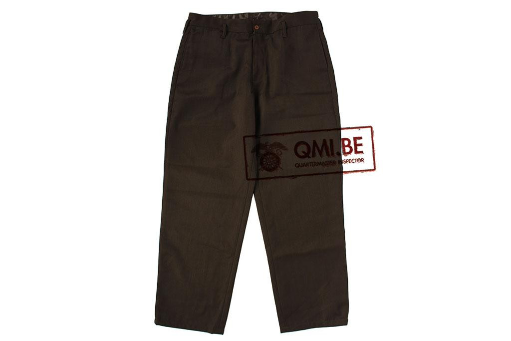 Chocolate trousers, officers
