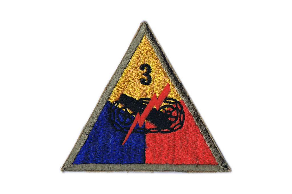 3rd Armored Division Patch Patch 3rd Armored Division