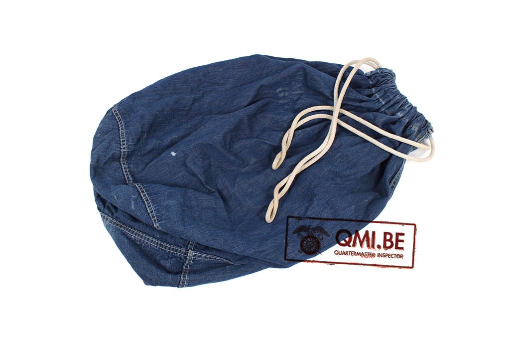 Original US WW2 Denim Barracks Bag, used condition