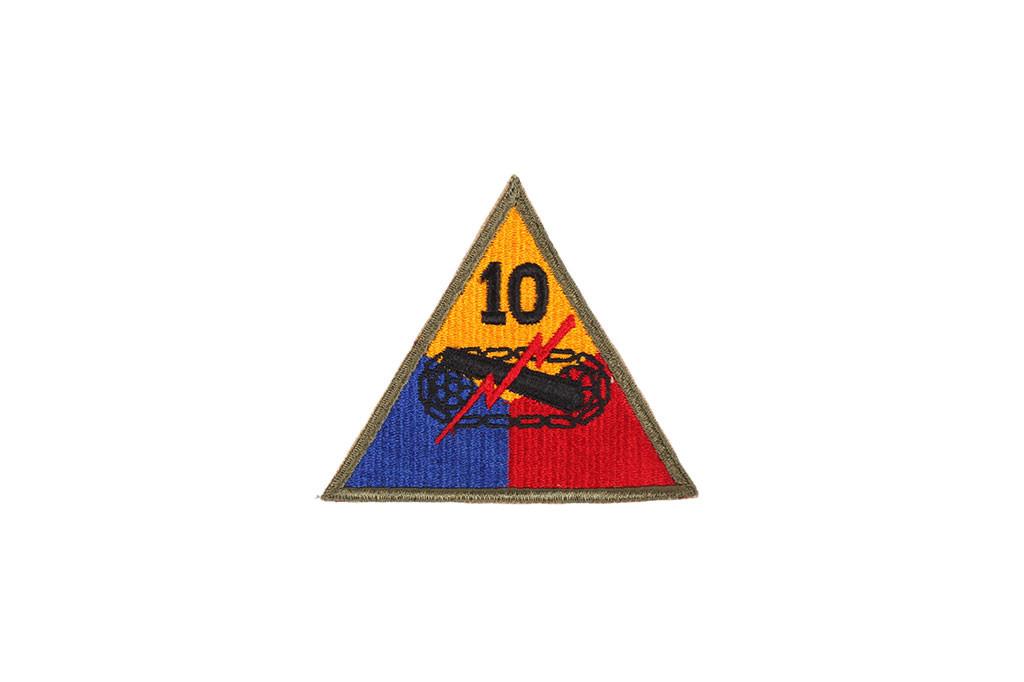 original 10th armored patch