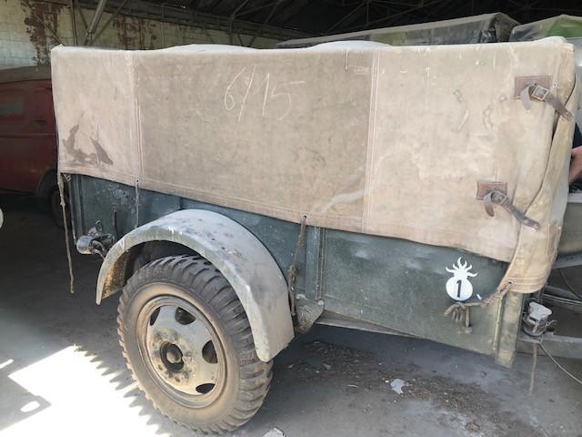 US WW2 GMC Trailer (Ex. French Army)
