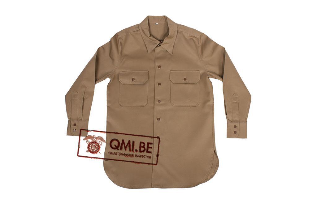 Chino shirt, cotton