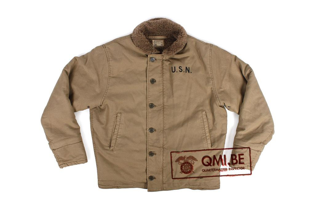 US Navy N-1 Deck Jacket (Khaki)