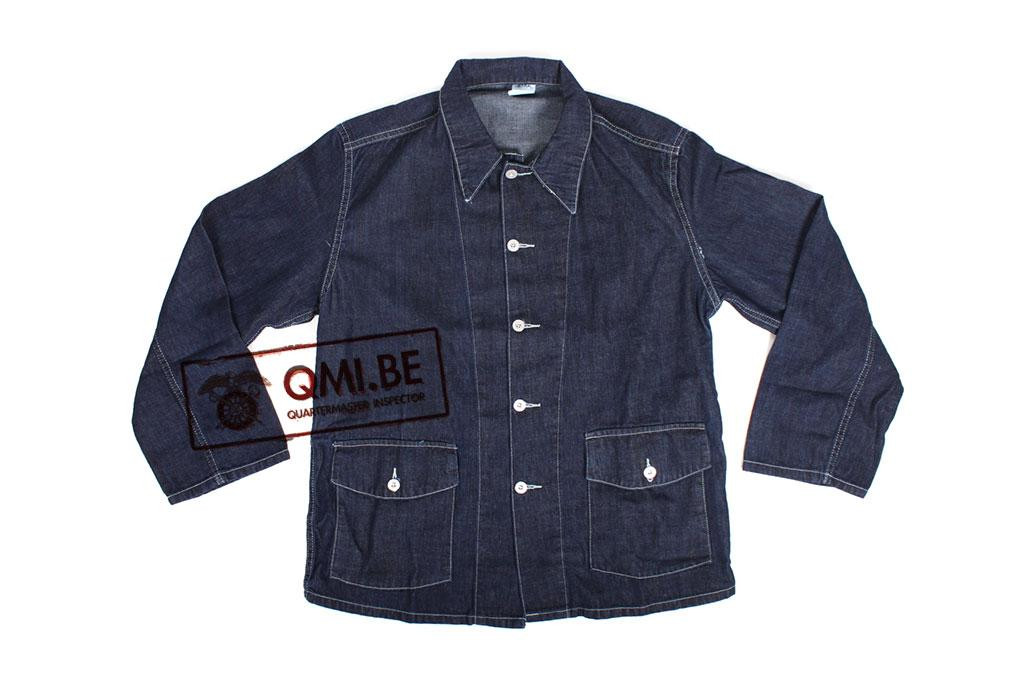 Jacket, Work, Blue-Denim, M1940