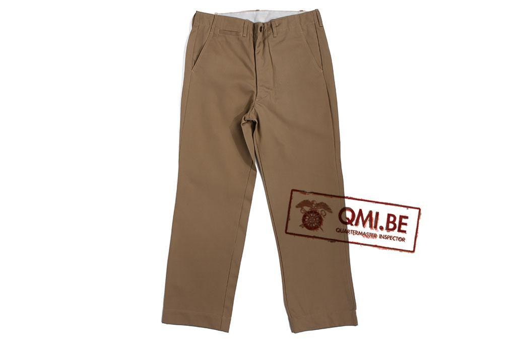 Chino trousers, cotton