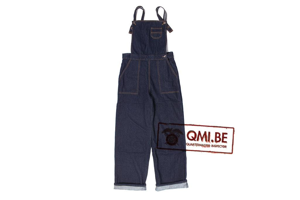 Bib Overalls, Blue Denim, (Women's)
