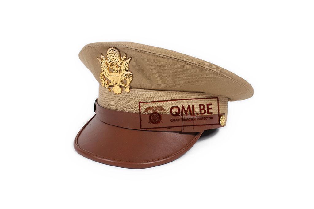 Visor hat, officer's Khaki (Deluxe version)