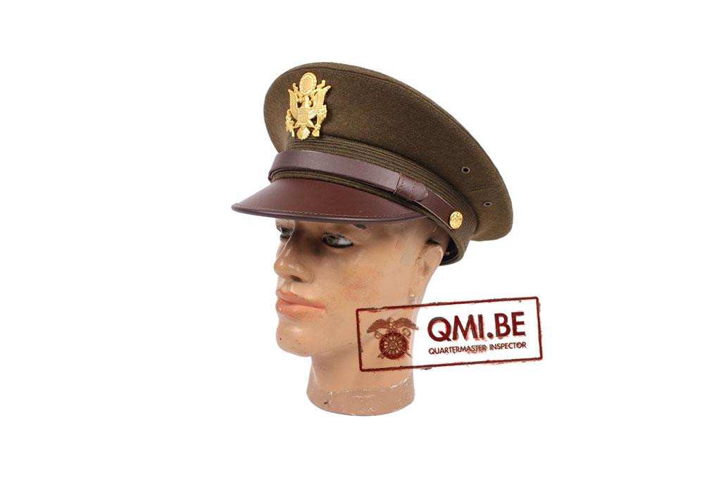 Visor hat, officer's (OD)