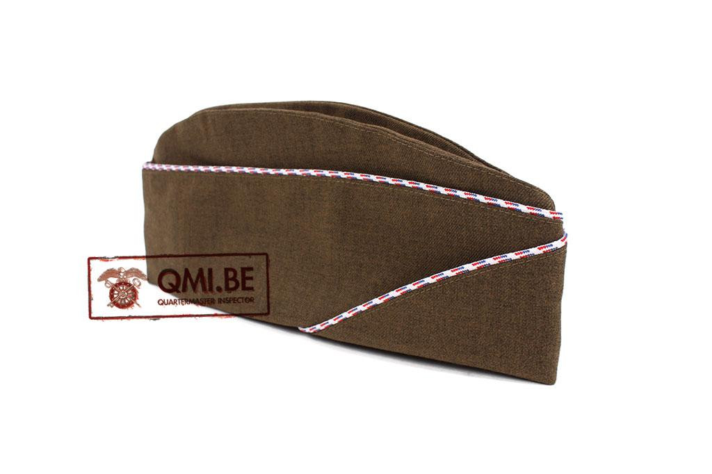 Garrison cap, FSSF (White / Blue & Red)