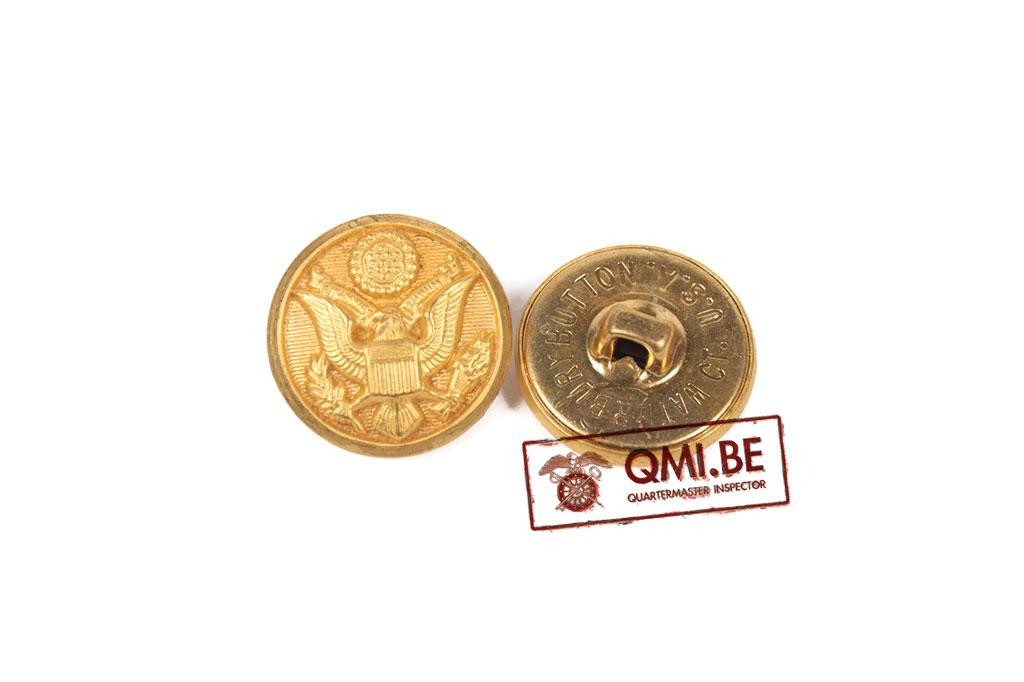 Button, Service Coat, Brass (19 mm)
