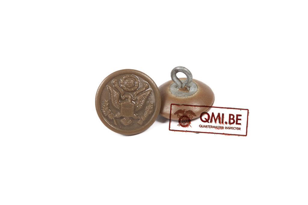 Button, US Eagle, Plastic (16 mm)