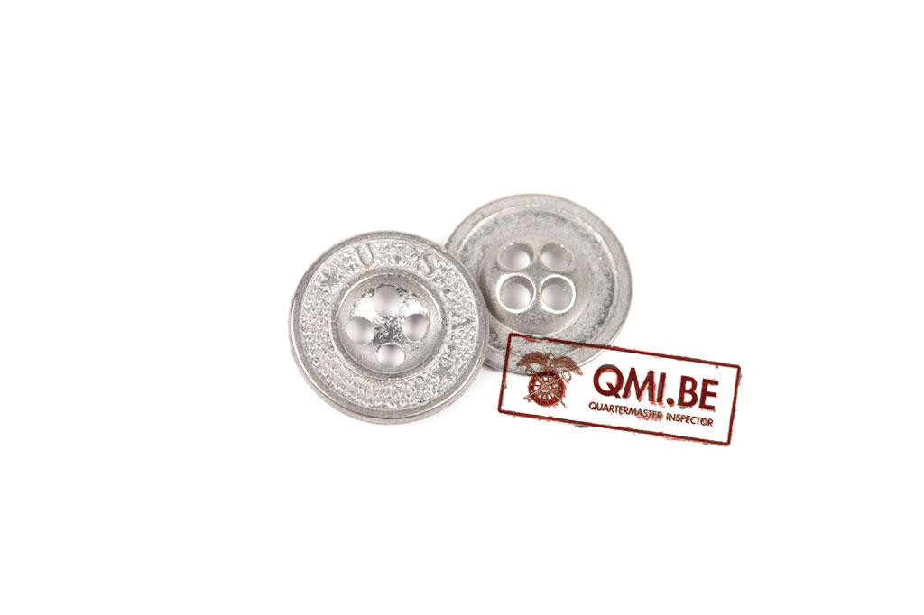 Button, US Army, Silver (14 mm)