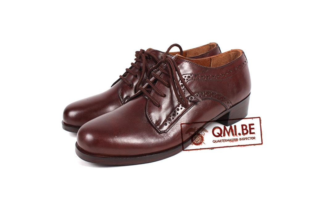 Shoes, WAC, Service (brown)