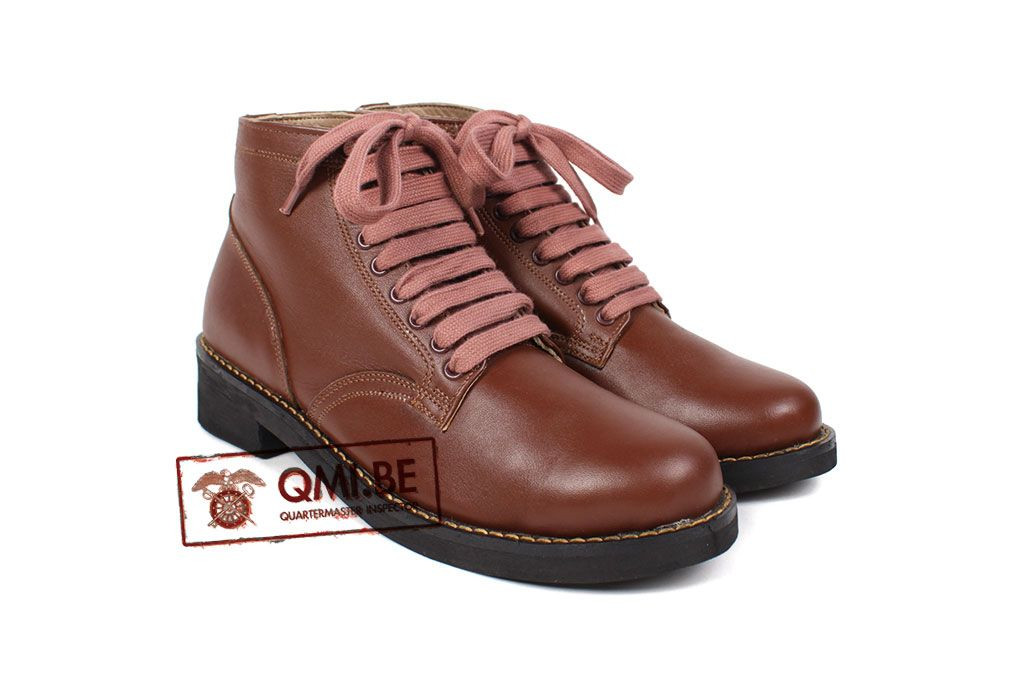 Shoes, WAC, field, high (brown)