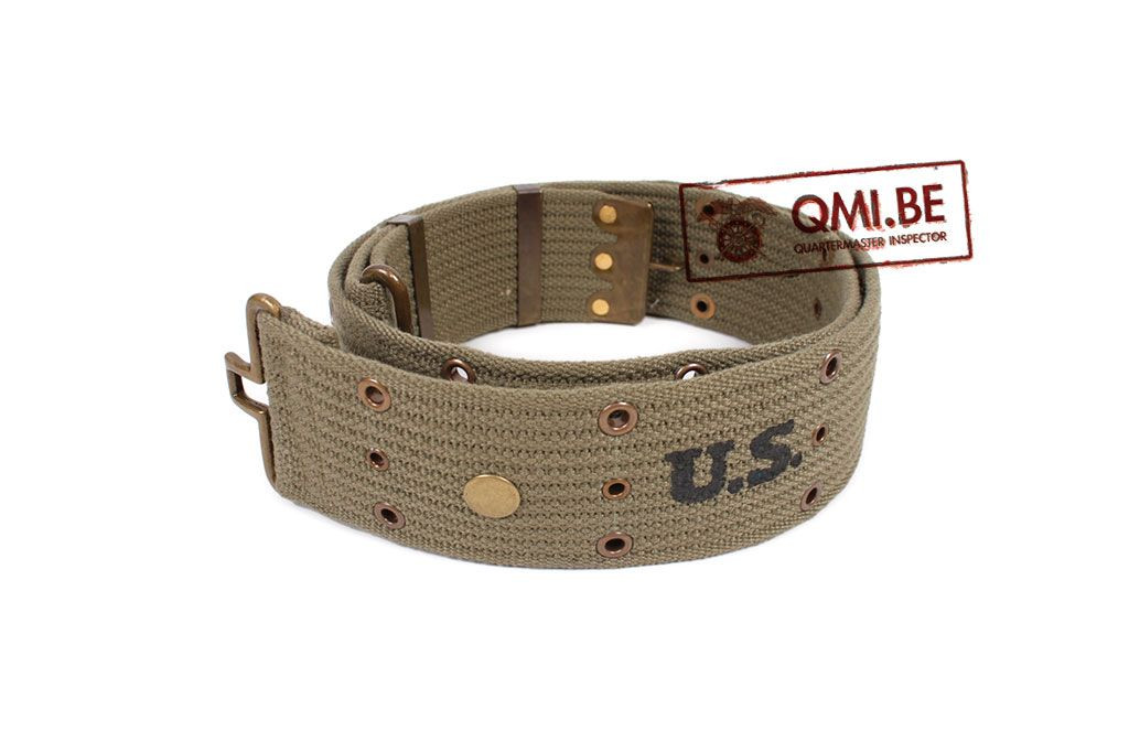 Pistol belt, M-1936, OD NO. 7 (Brass eyelet)