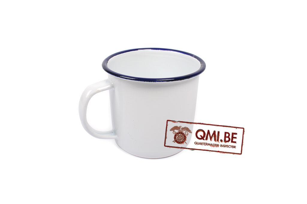 Enamel mug (white)