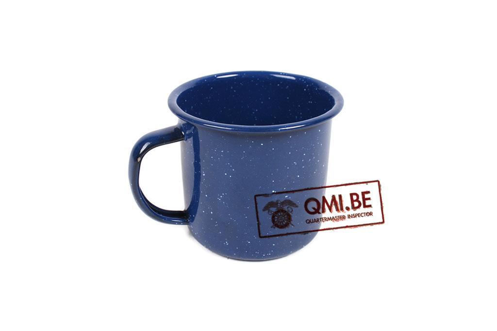 Enamel mug (blue)