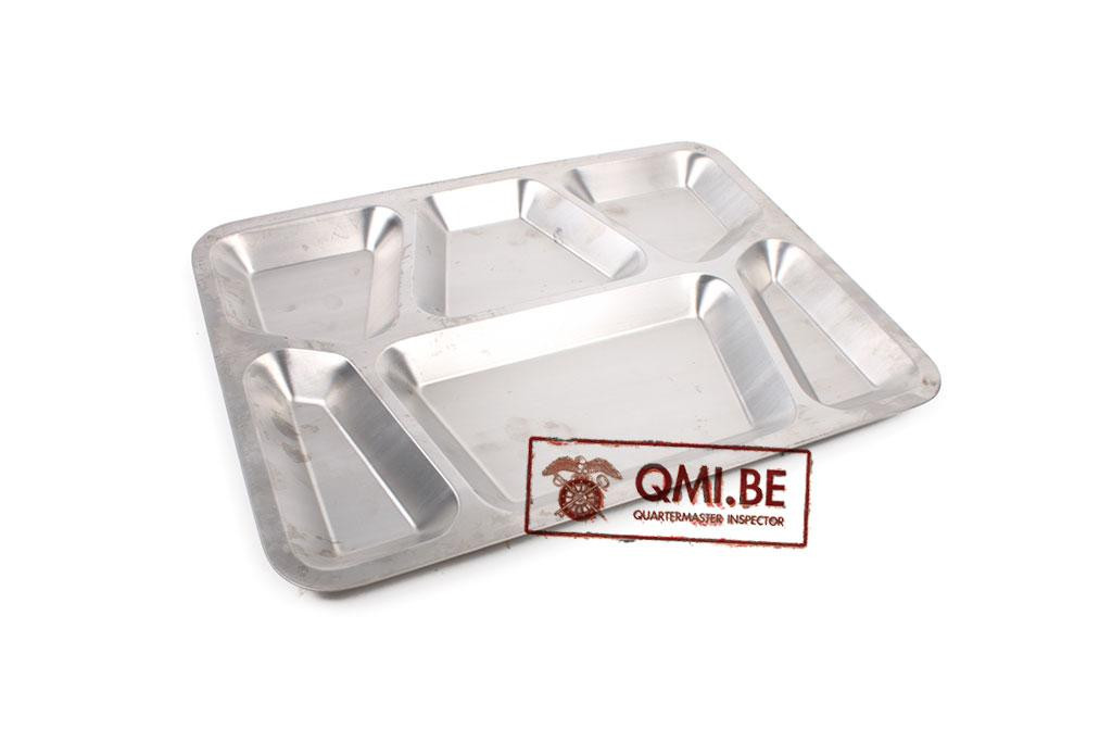 US steel food tray