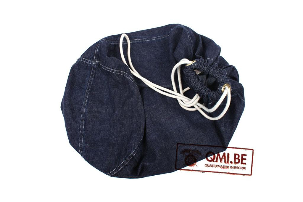 Bag, Barrack, Blue Denim (with drawstring)