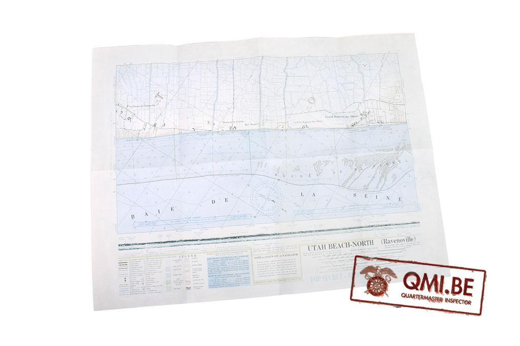 Bigot Map, Utah Beach-North (Ravenoville)
