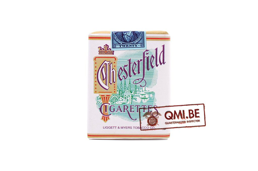 Dummy Cigarette Pack, Chesterfield