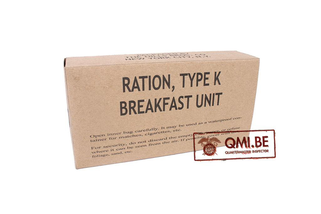 Ration, Type K, Breakfast Unit (Early)