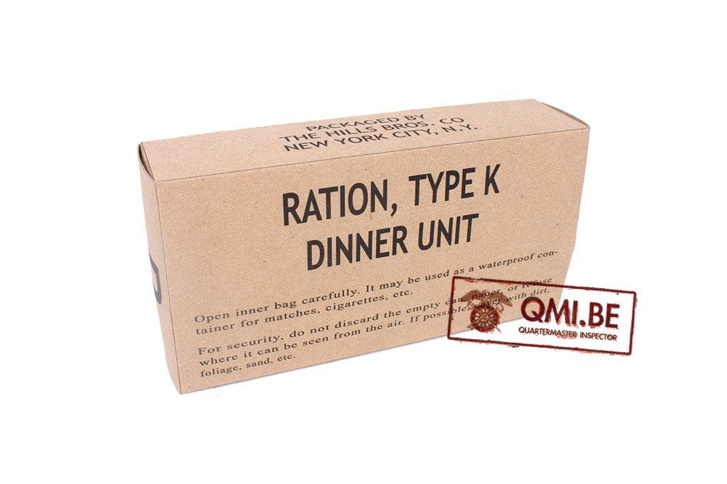 Ration, Type K, Dinner Unit (Early)