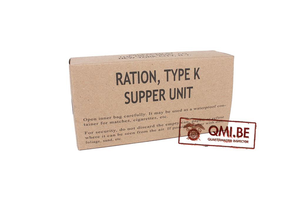 Ration, Type K, Supper Unit (Early)