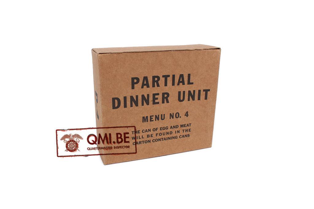 Partial Dinner Unit, D-4