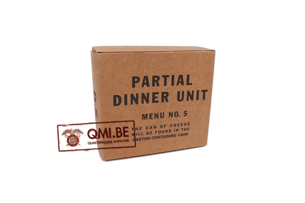 Partial Dinner Unit, D-5