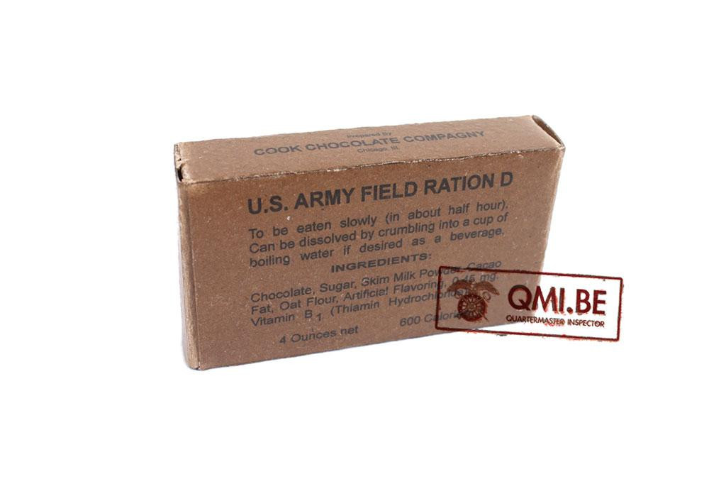 Field ration D, Chocolate