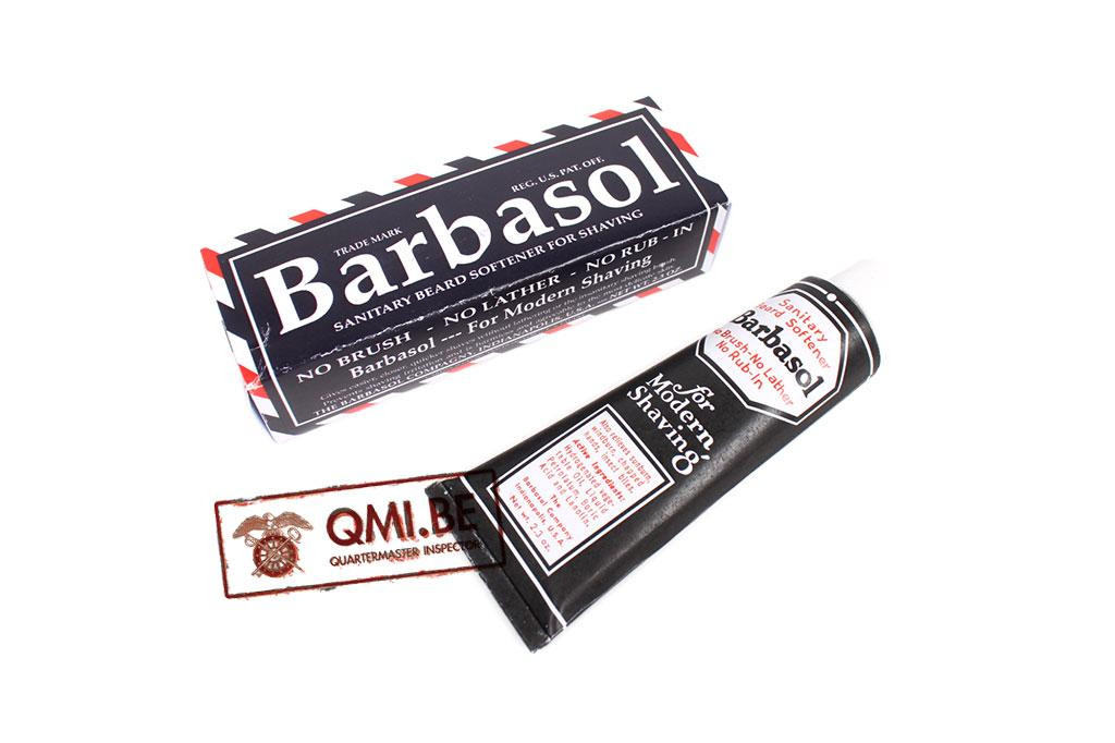 Barbasol beard softener for shaving