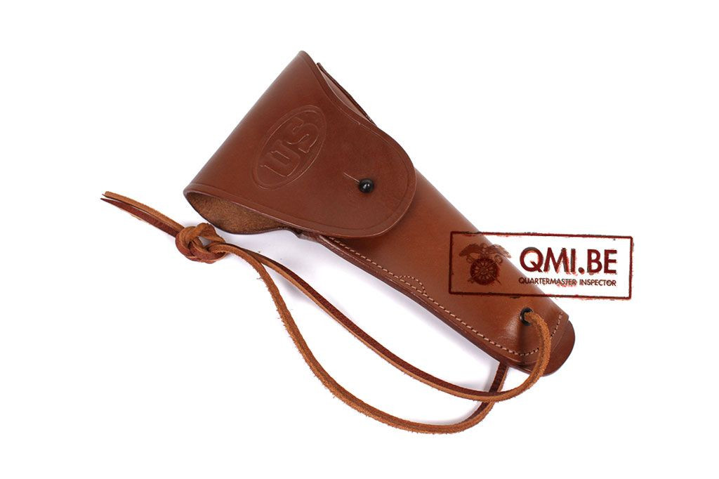 Leather M1916 Belt Holster (Colt.45) Brown