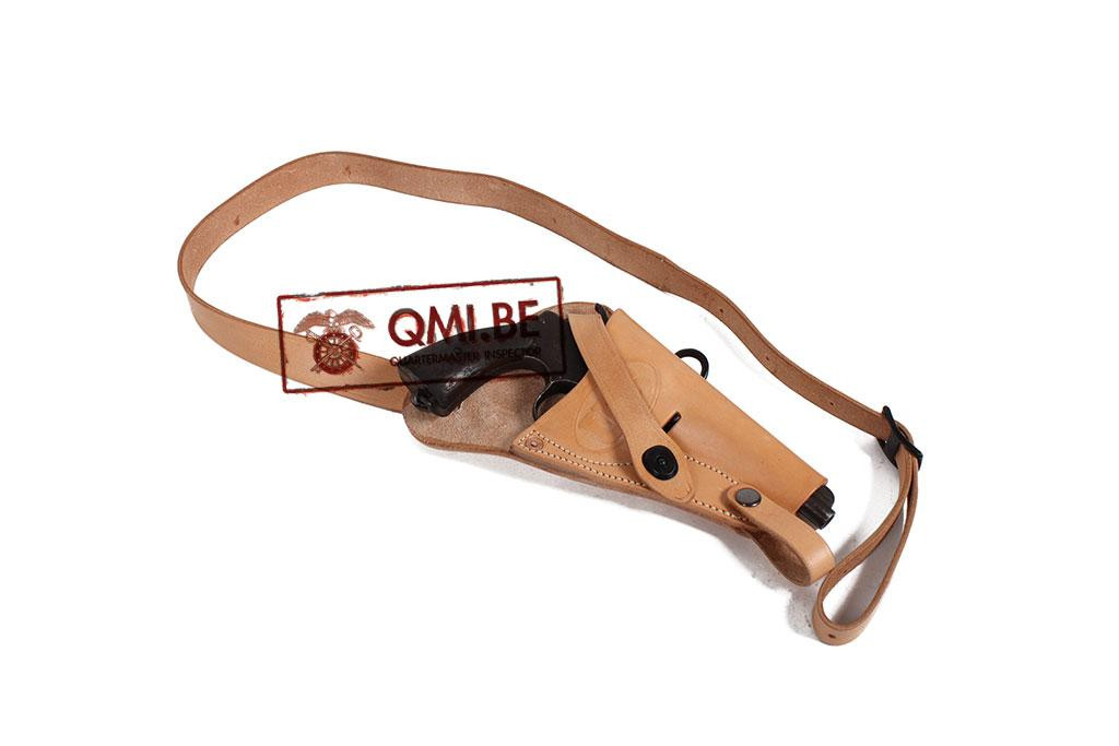 Leather Shoulder holster, S&W .38 Victory (Pilot)