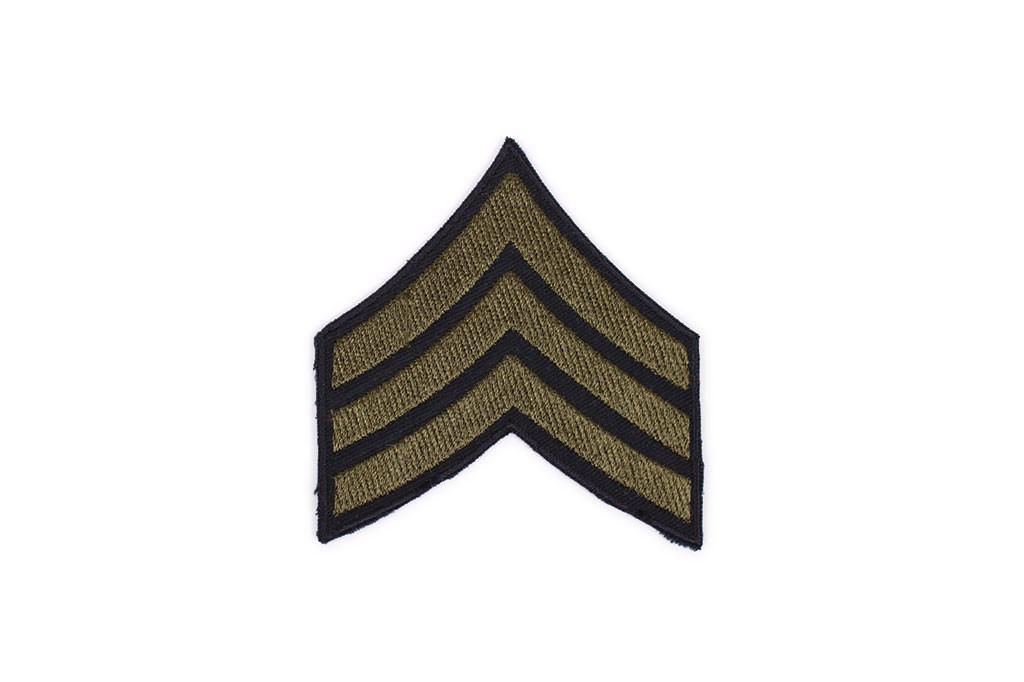 Patch, Sergeant, OD (pair)