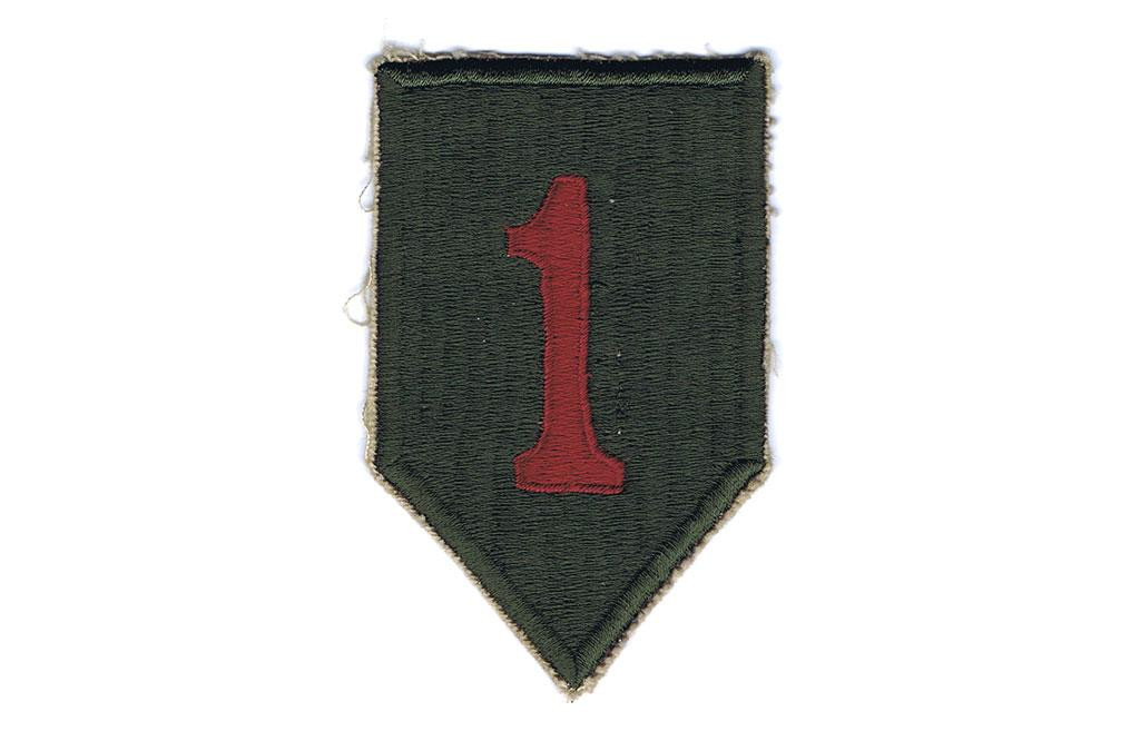 Patch, 1st Infantry Division (Big Red One)