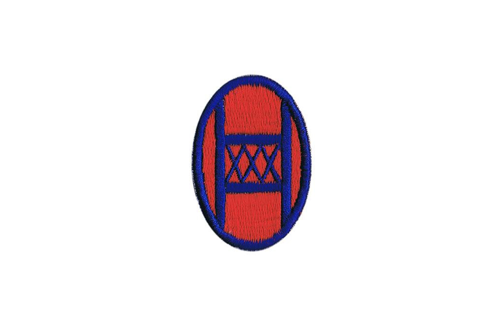Patch, 30th Infantry Division (Old Hickory)