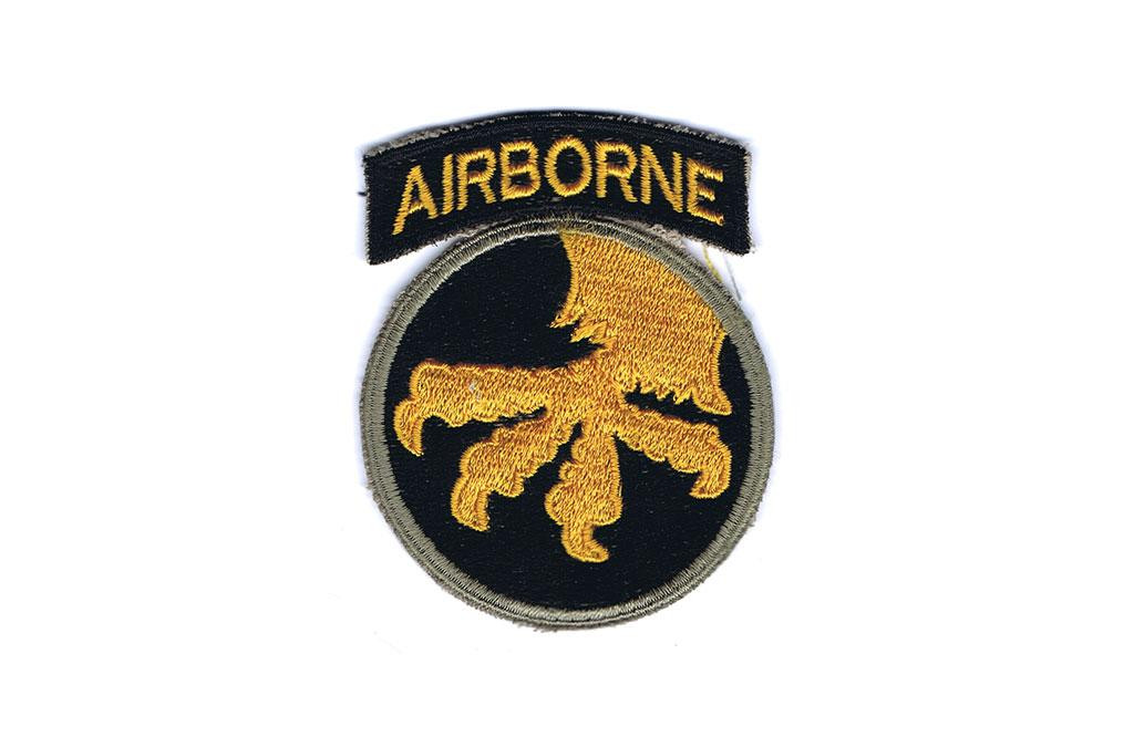 Patch, 17th Airborne Division (Golden Talons)
