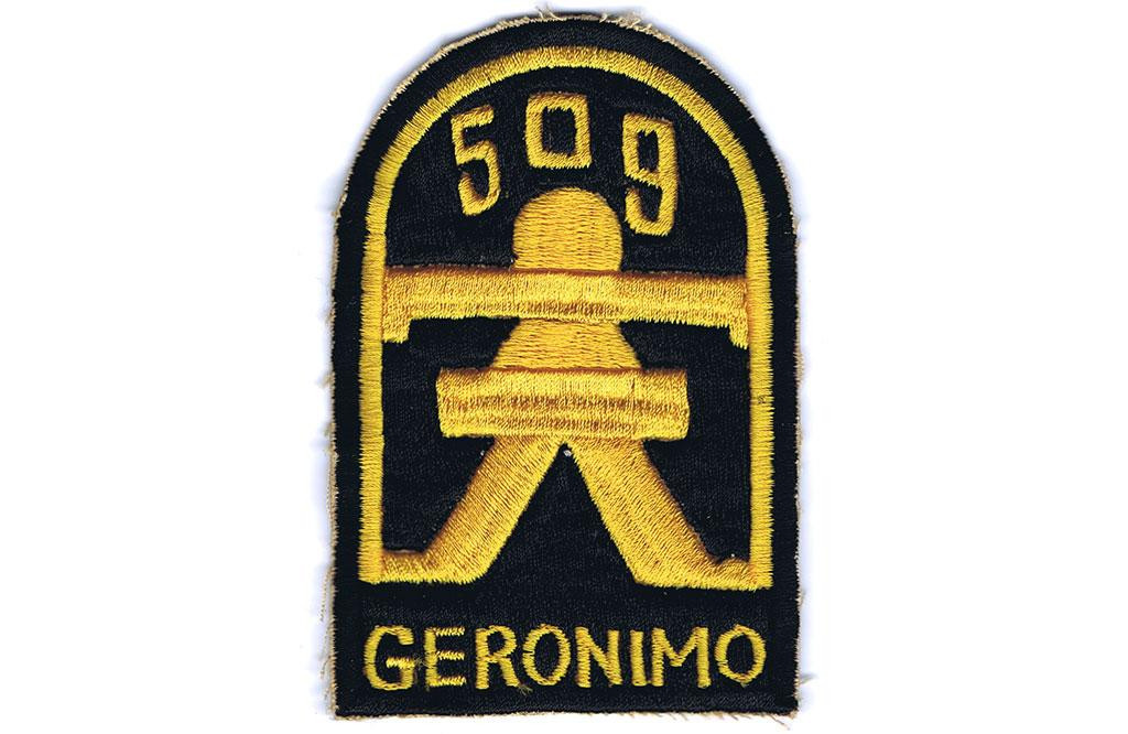 Patch, 509th PIR Infantry Airborne (Geronimo)