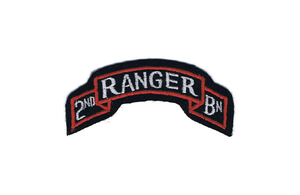 Patch, 2nd Ranger Battalion tab