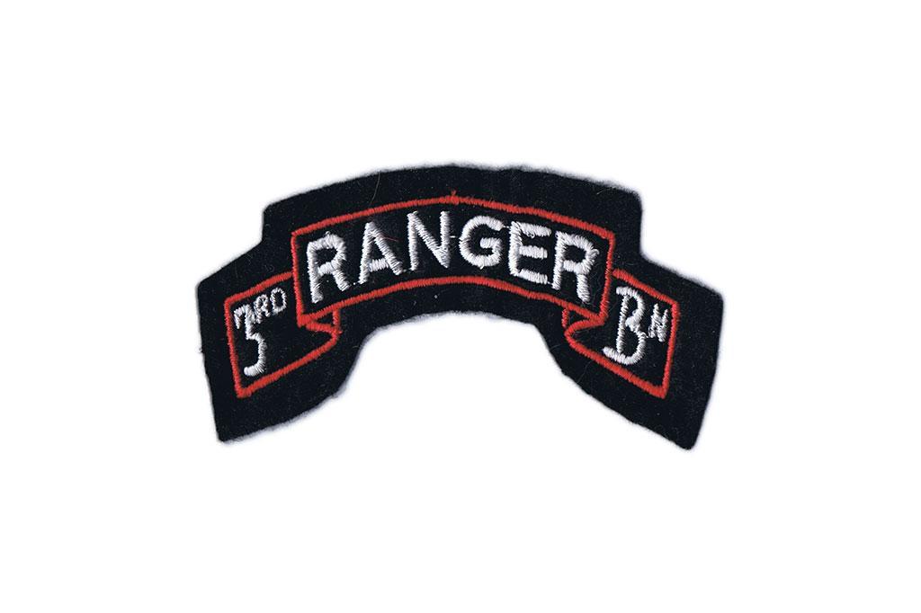 Patch, 3rd Ranger Battalion tab