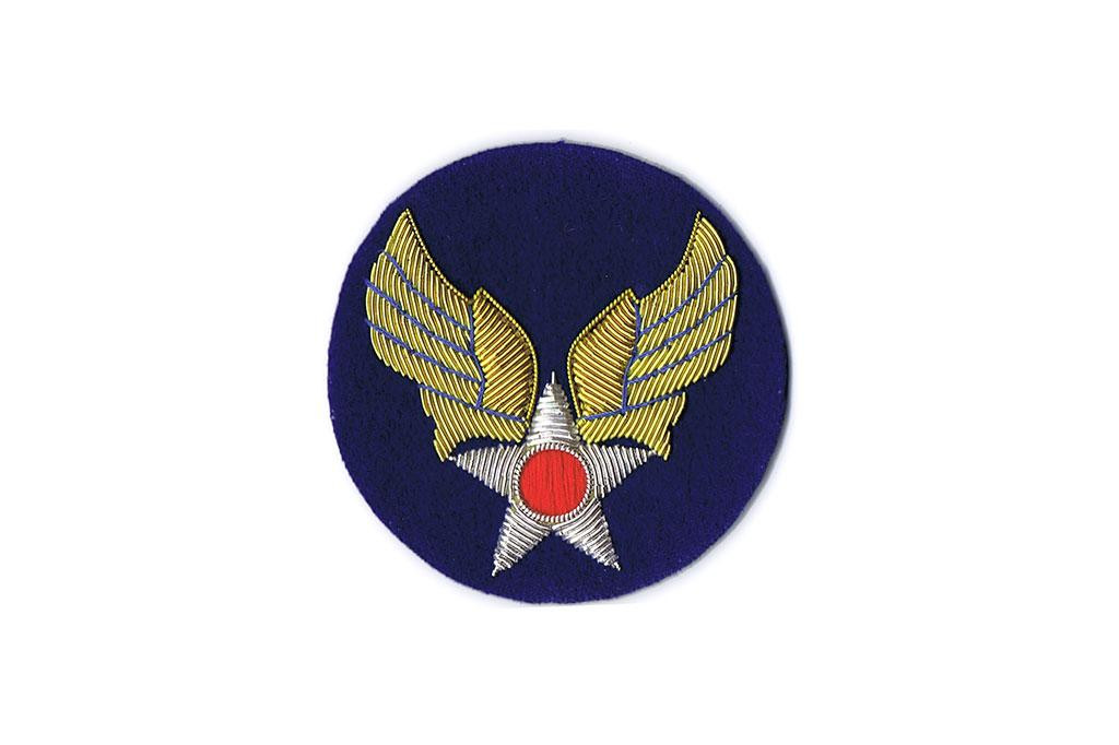 Patch, Army Air Force (Gold Bullion On Felt)