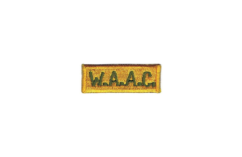 Patch, Women's Army Auxiliary Corps (W.A.A.C.)