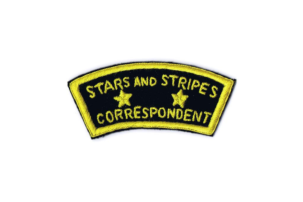 Patch, Stars and Stripes Correspondent (Felt)
