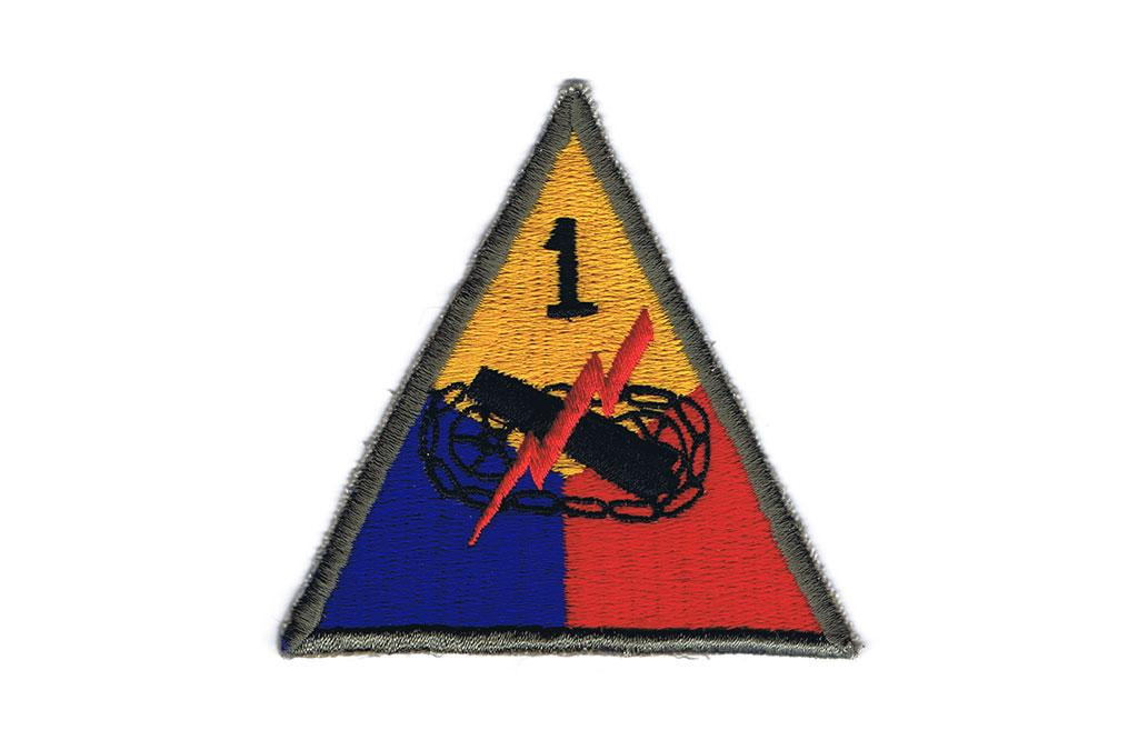 Patch, 1st Armored Division (Old Ironsides)