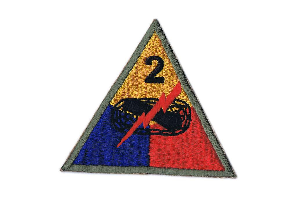 Patch, 2nd Armored Division (Hell On Wheels)