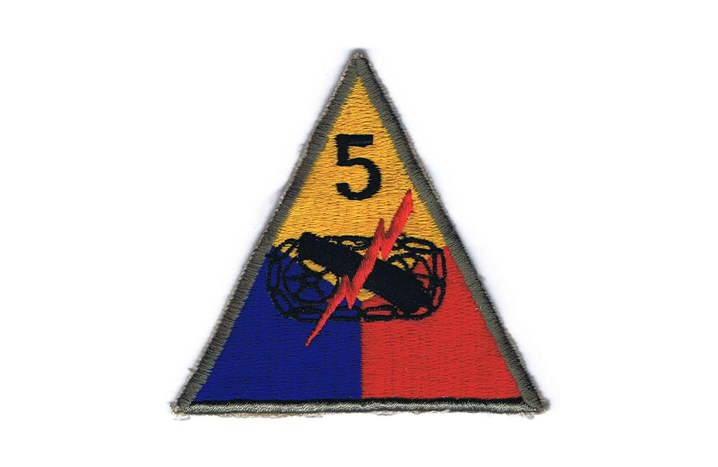 Patch, 5th Armored Division (Victory)