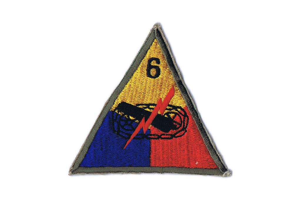 Patch, 6th Armored Division (Super Sixth)