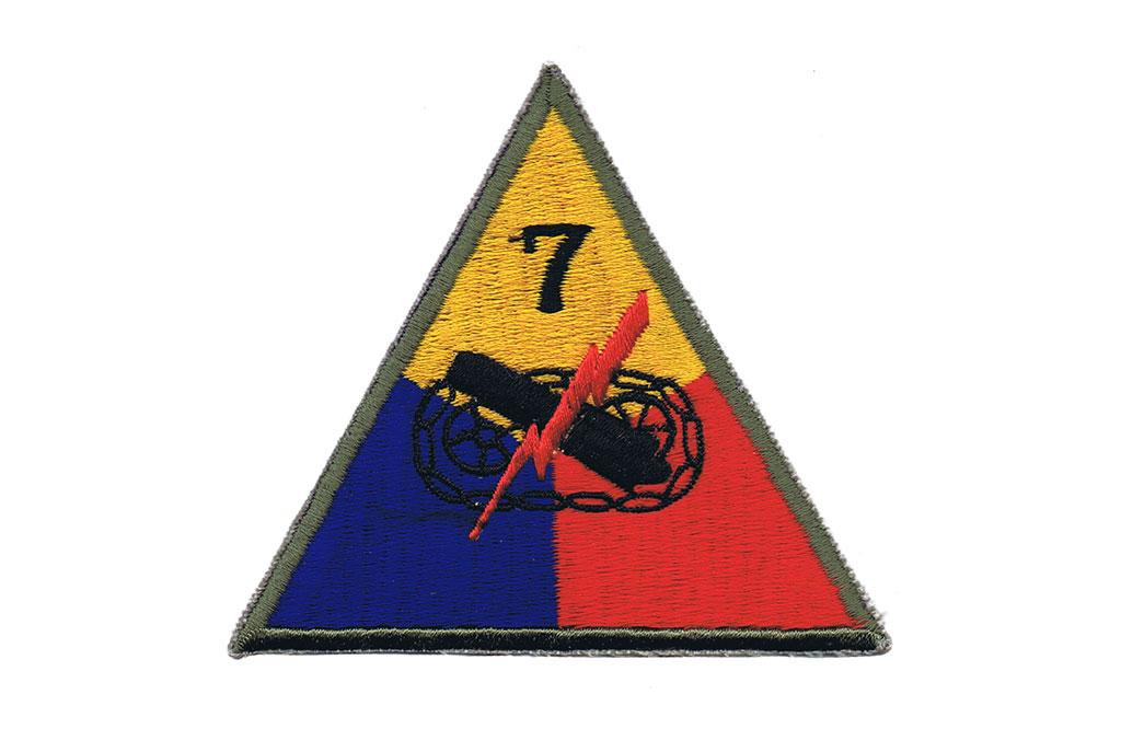 Patch, 7th Armored Division (Lucky Seventh)