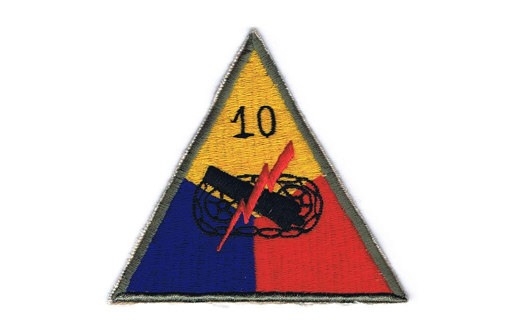 Patch, 10th Armored Division (Tiger)